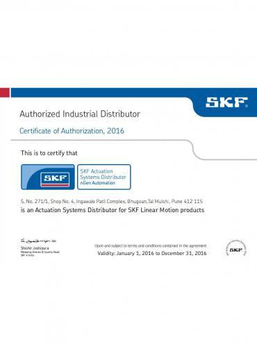 Certicate of Authorization,2016